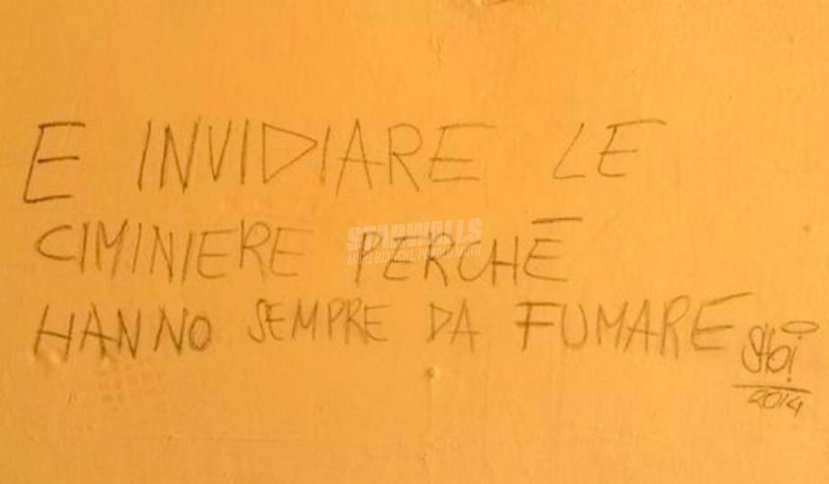 Scritte sui Muri Invidia