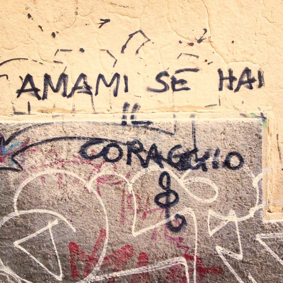 Scritte sui Muri La sfida