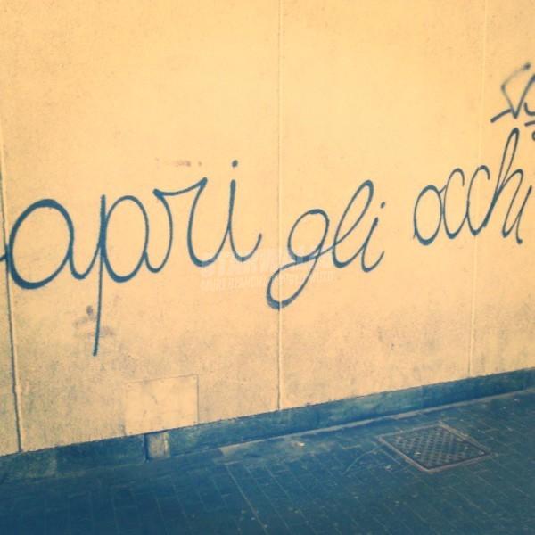 Scritte sui Muri Lo dicono anche i muri