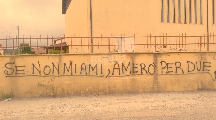 Scritte sui Muri Non importa