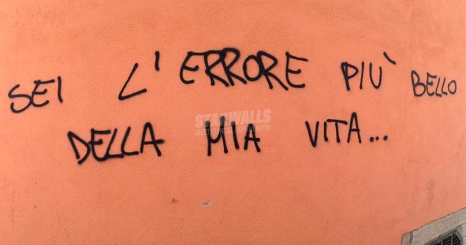 Scritte sui Muri Sbaglio