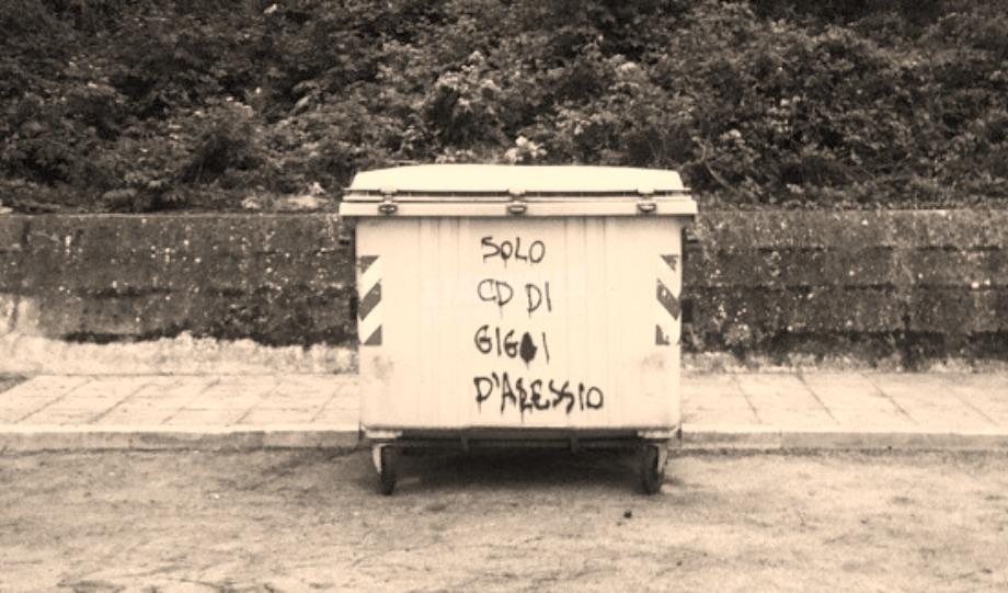 Scritte sui Muri Suddivisione dei rifiuti