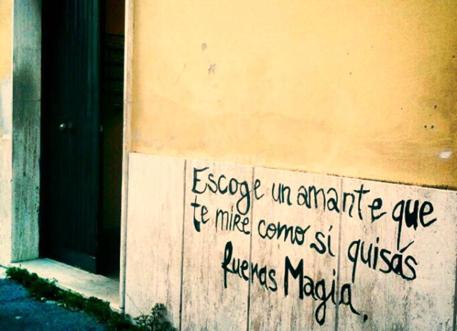 Scritte sui Muri In cerca di te
