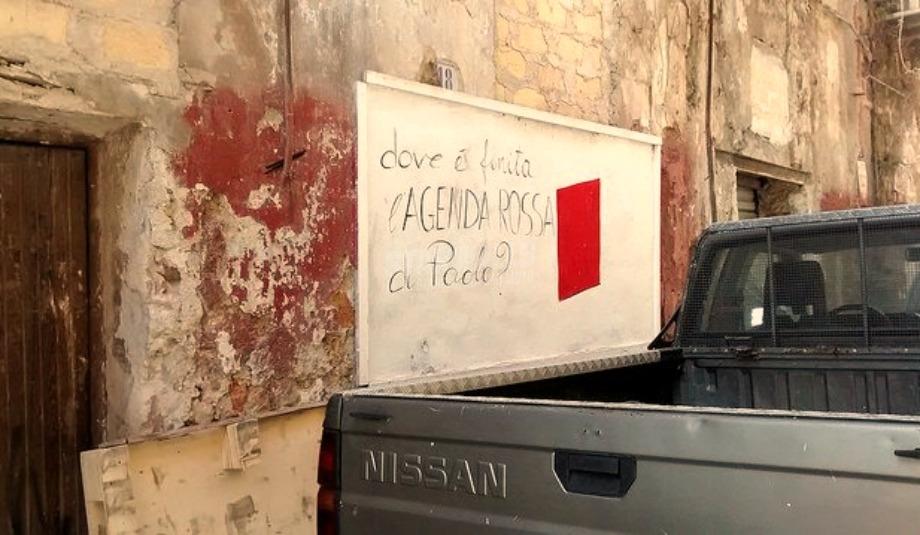 Scritte sui Muri Paolo Borsellino