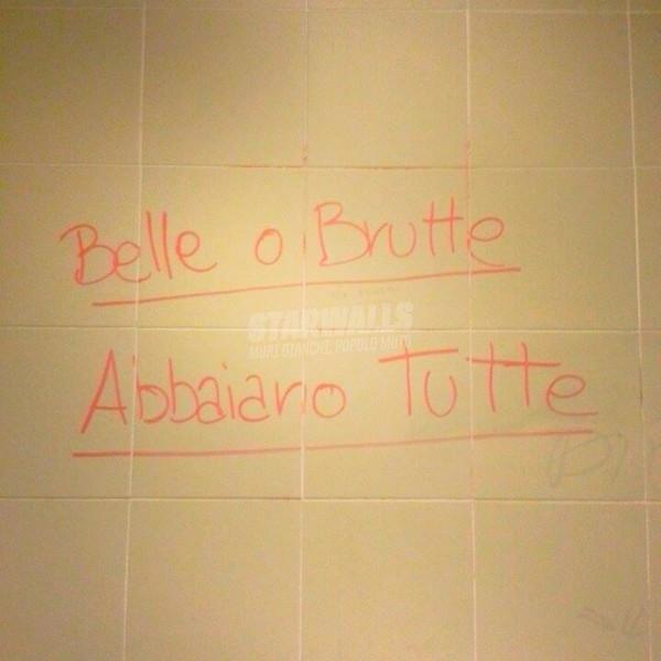 Scritte sui Muri Cagne