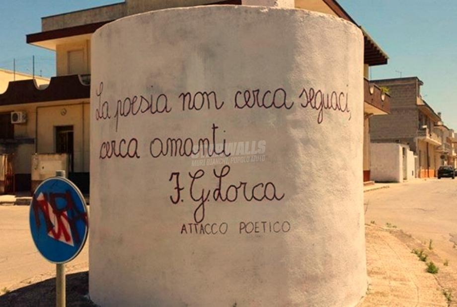 Scritte sui Muri Federico García Lorca