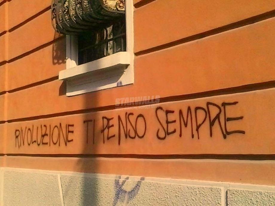 Scritte sui Muri I compagni annoiati quando pensano