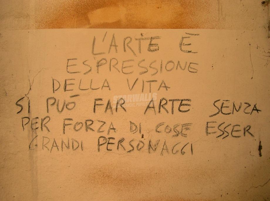 Scritte sui Muri L'arte è