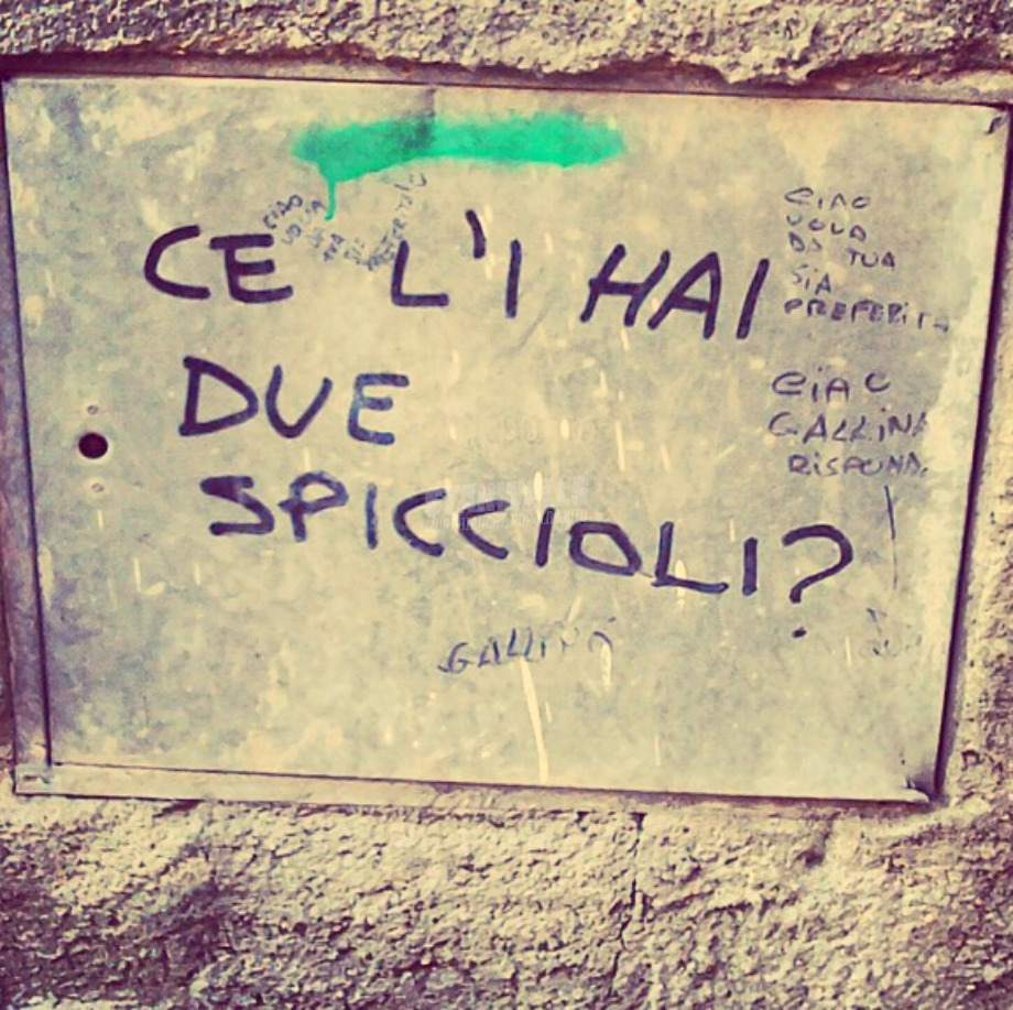Scritte sui Muri Moneta?
