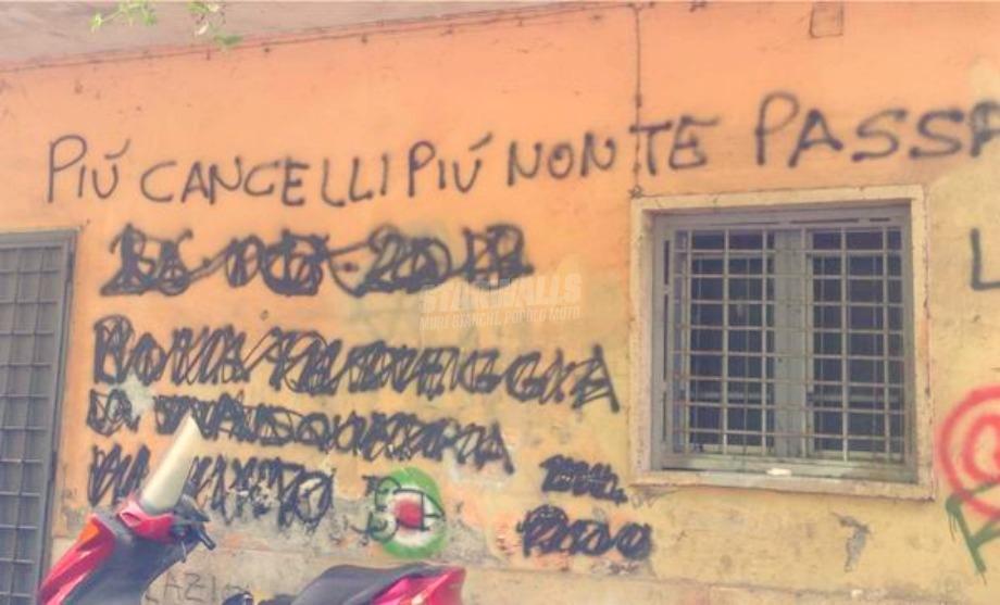Scritte sui Muri Non ci pensare