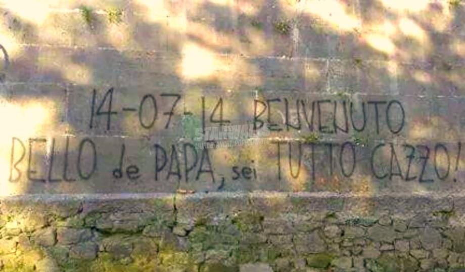Scritte sui Muri Orgoglio di papà