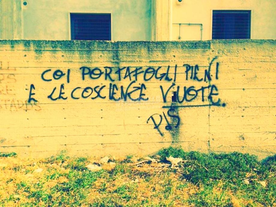 Scritte sui Muri Pagliacci