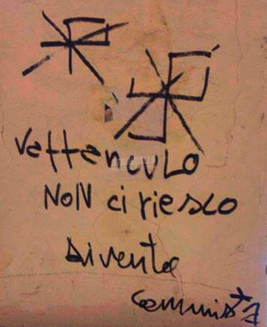Scritte sui Muri Riprova (e controlla)