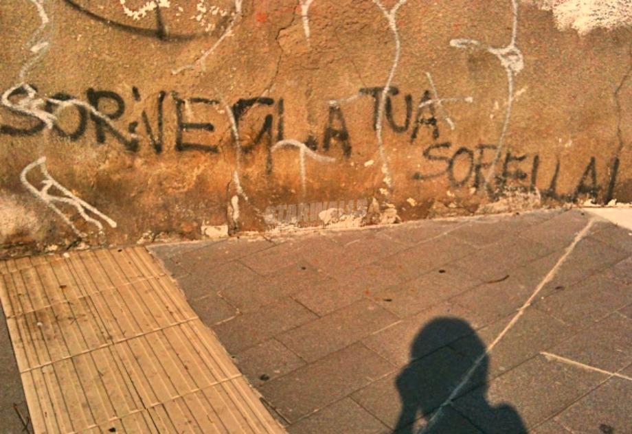 Scritte sui Muri Sorvegliata speciale