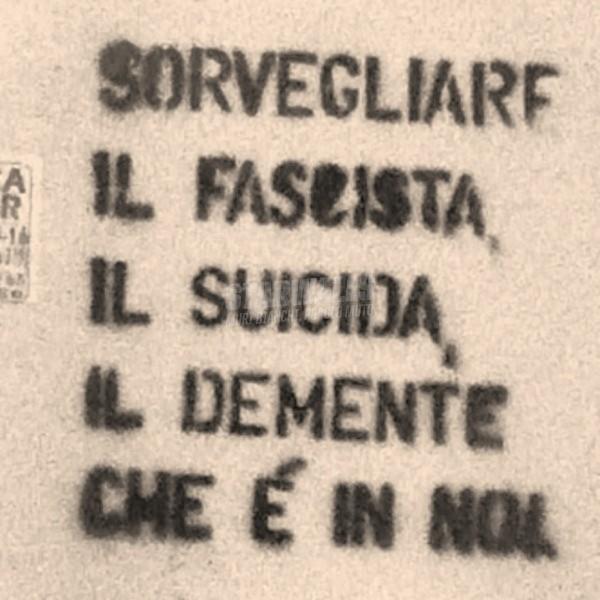 Scritte sui Muri Sotto controllo