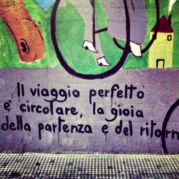 Scritte sui Muri Il viaggio perfetto