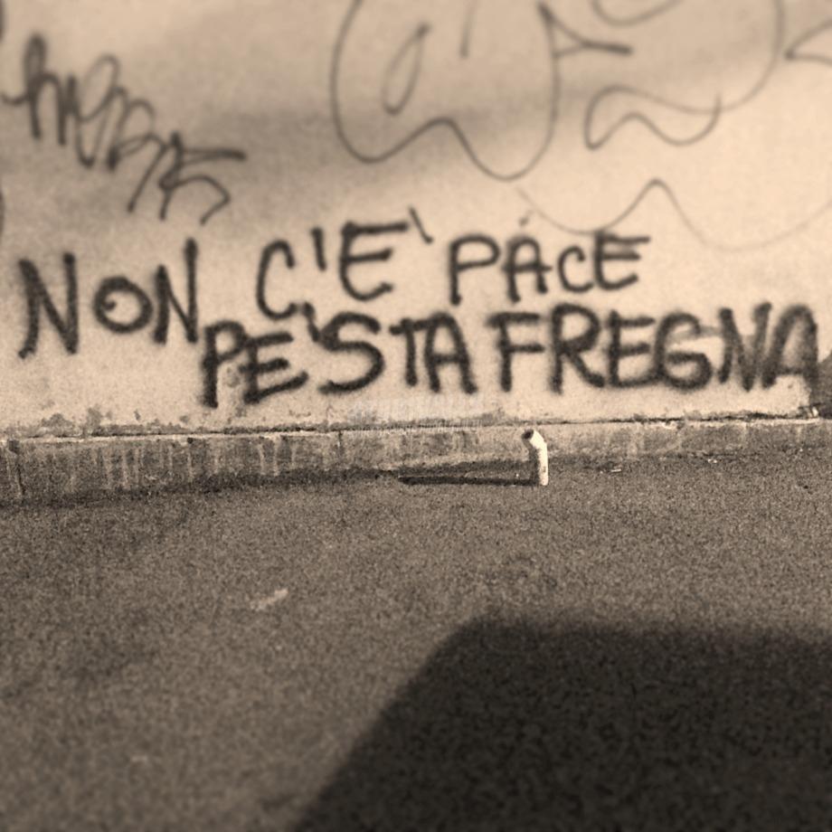 Scritte sui Muri Inquietudini al Verano