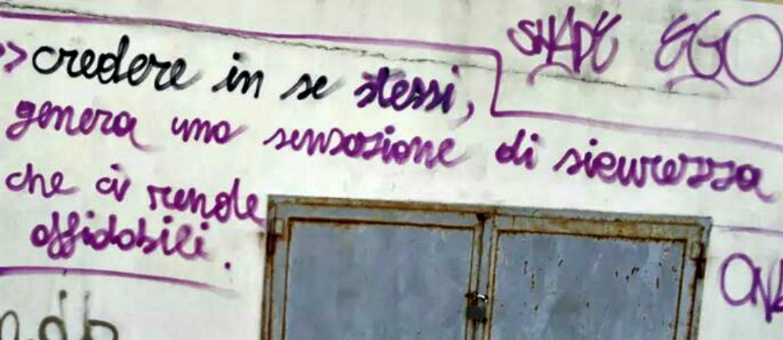 Scritte sui Muri Fiducia
