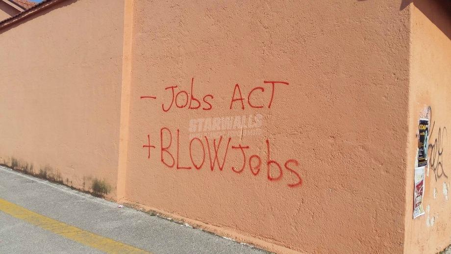 Scritte sui Muri Job Italia