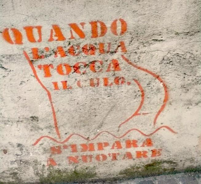 Scritte sui Muri Messaggio sociale