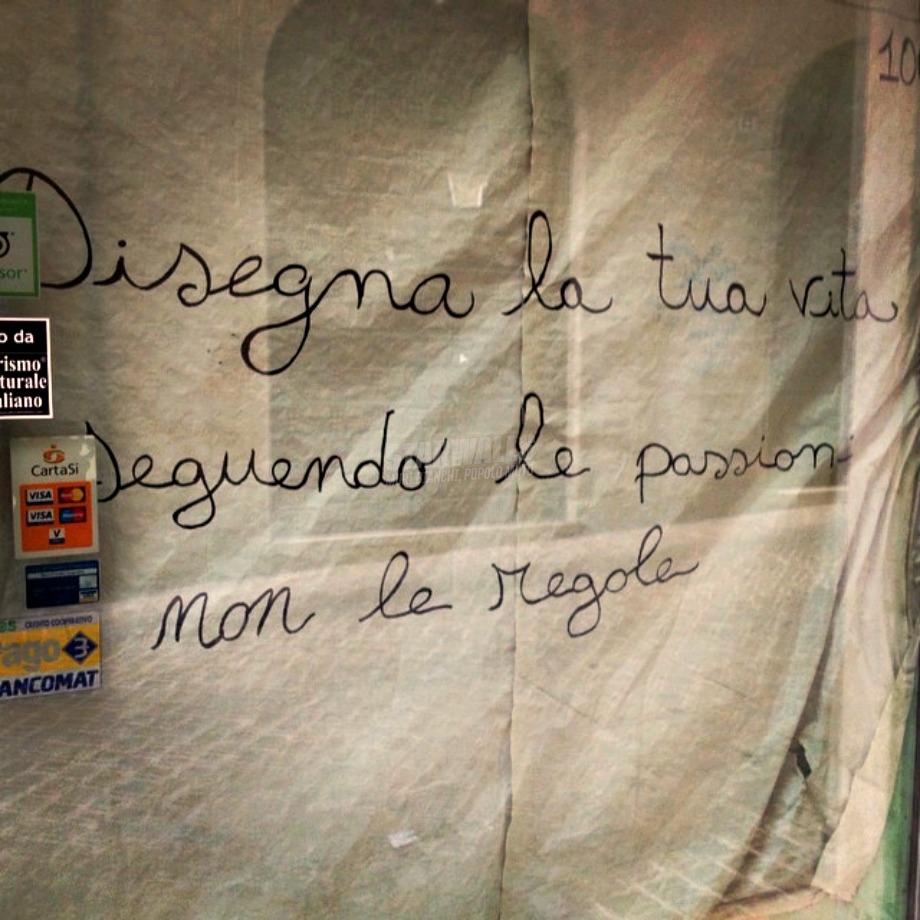 Scritte sui Muri Segui te stesso