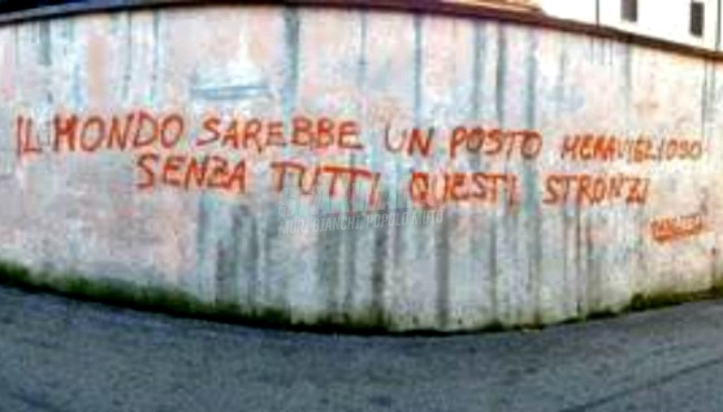 Scritte sui Muri Wonderful world