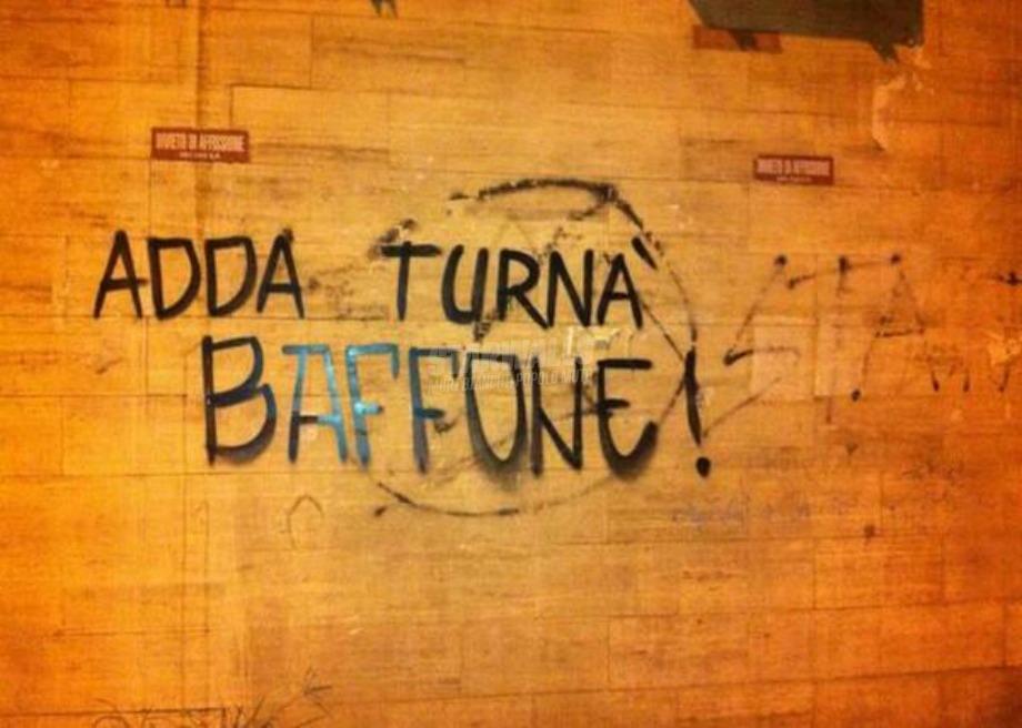 Scritte sui Muri Compagni nostalgici