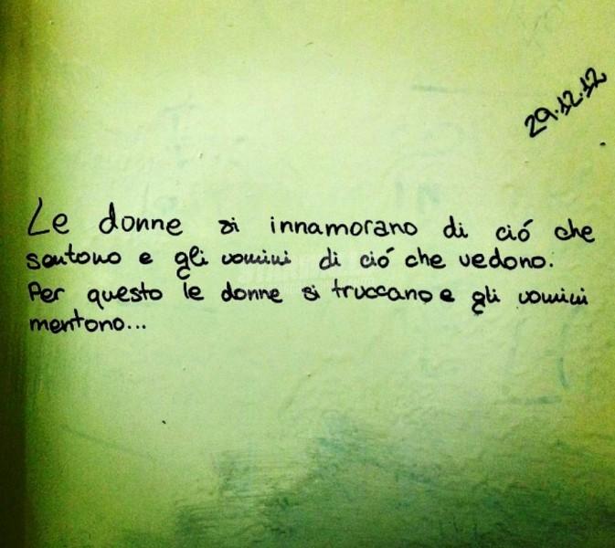 Scritte sui Muri L'innamoramento