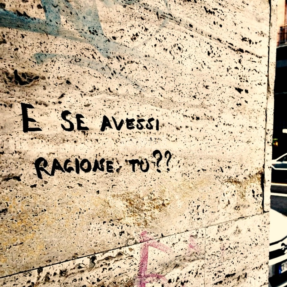 Scritte sui Muri Dubbi