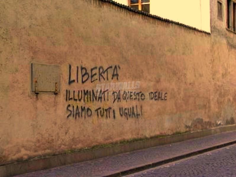 Scritte sui Muri L'unica via