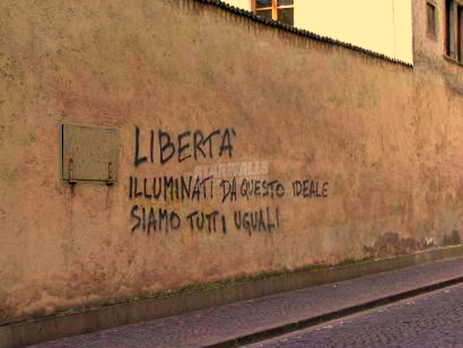 Scritte sui Muri L'unica via