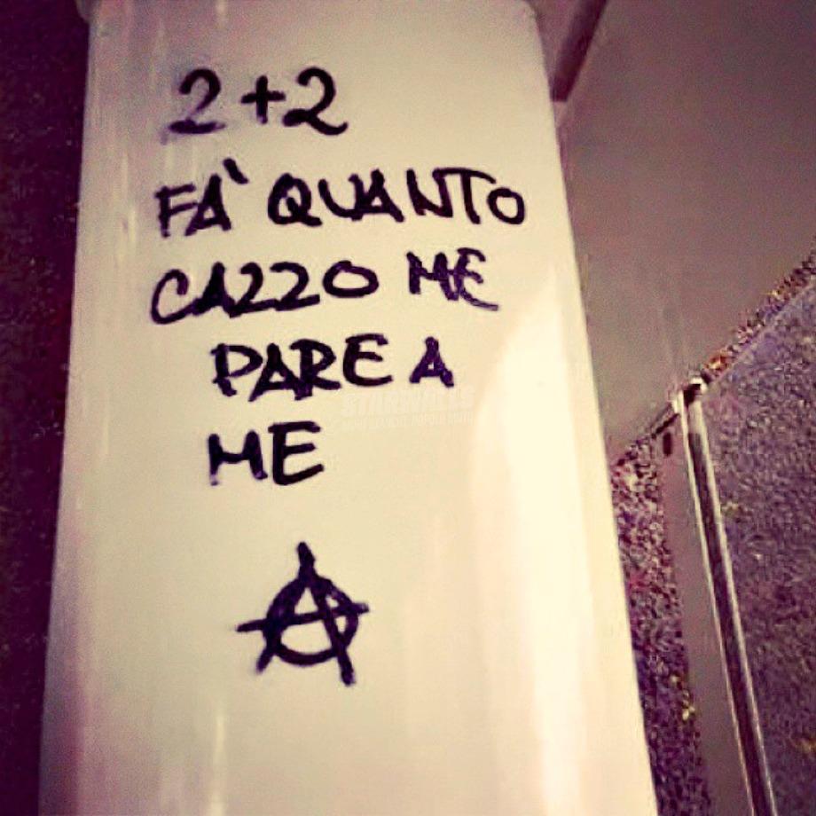 Scritte sui Muri Sono solo conti miei