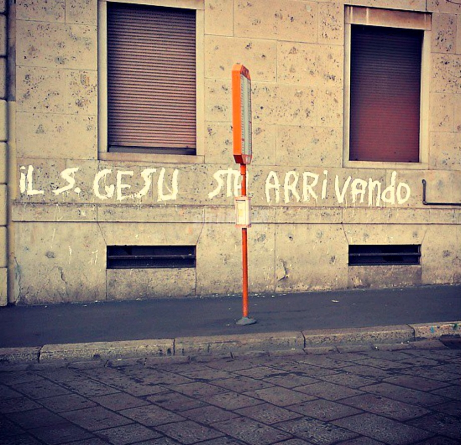 Scritte sui Muri Tenetevi pronti