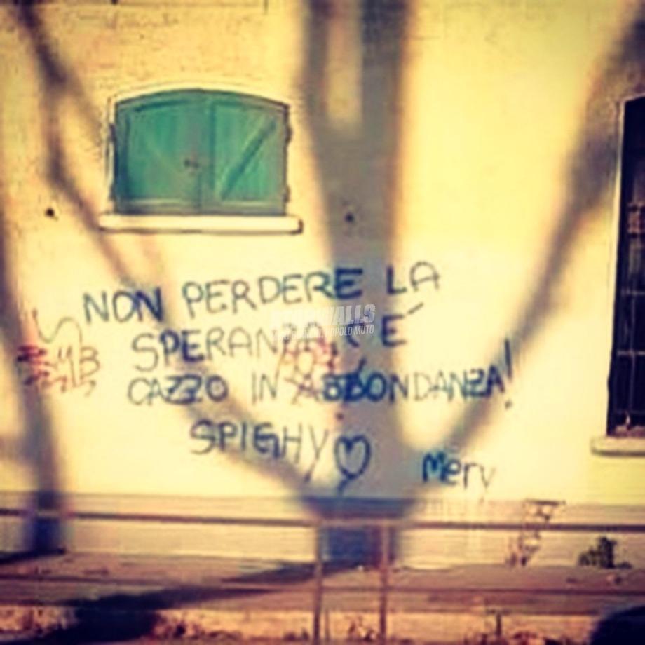 Scritte sui Muri A profusione