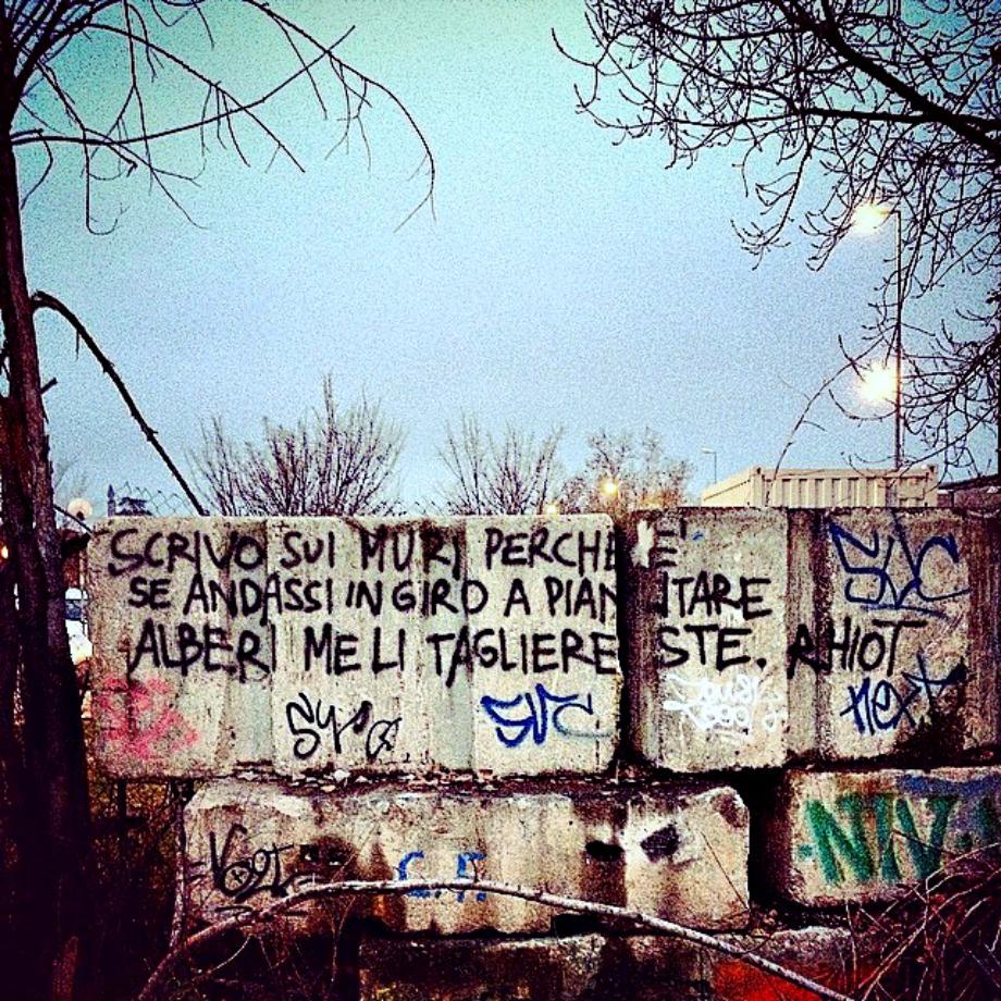 Scritte sui Muri Altruismo