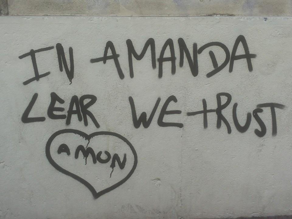 Scritte sui Muri Un solo credo