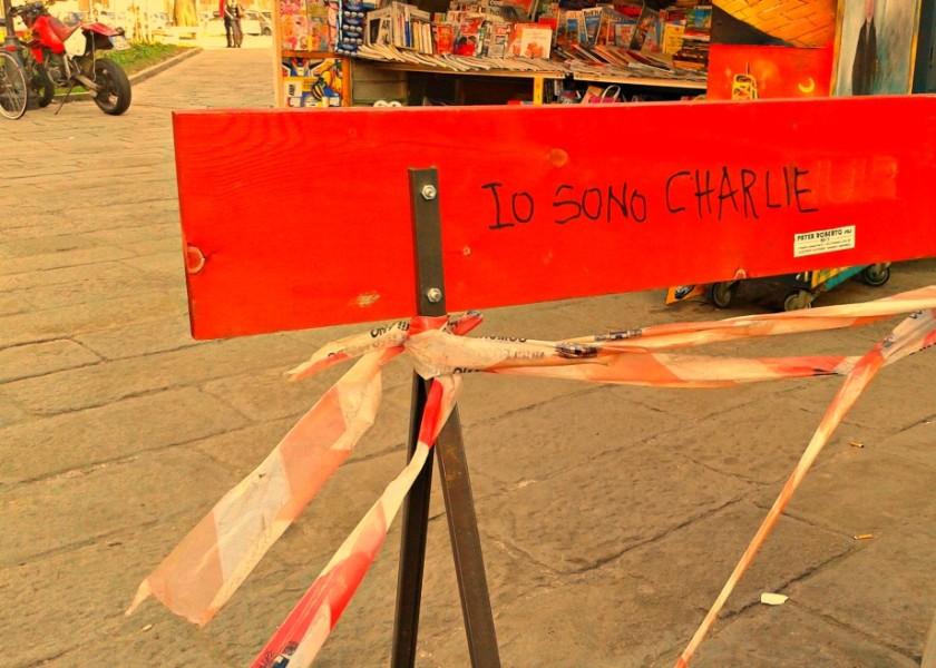 Scritte sui Muri Je suis Charlie
