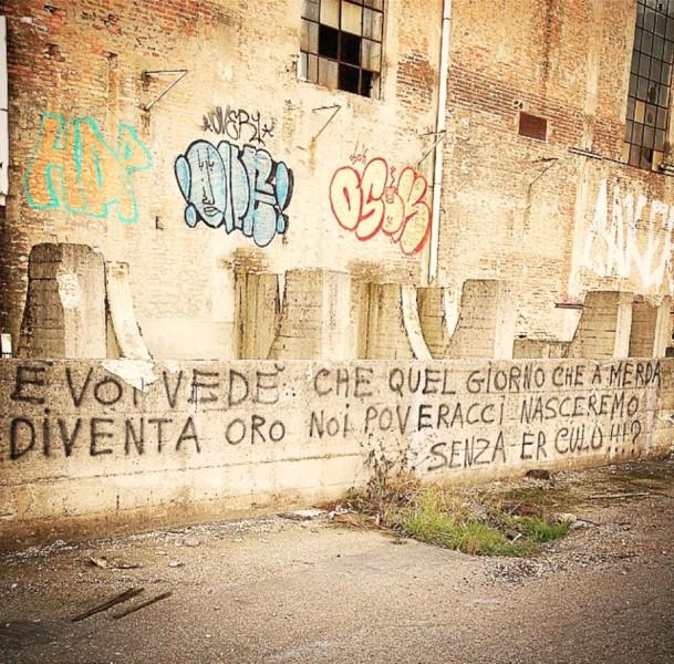 Scritte sui Muri Ottimismo