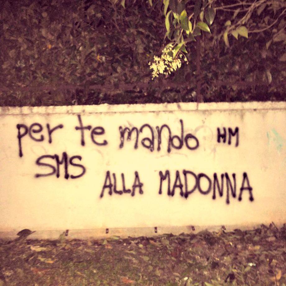 Scritte sui Muri Pronto a tutto