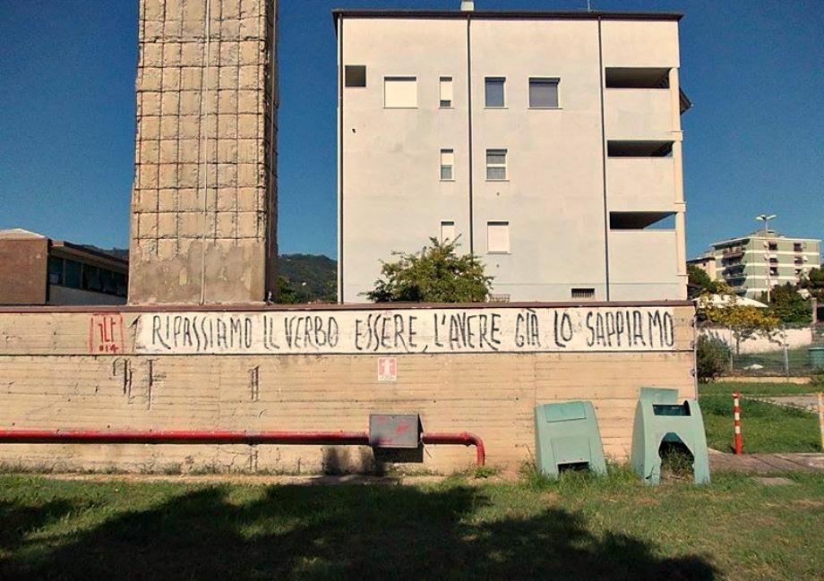 Scritte sui Muri Ripasso