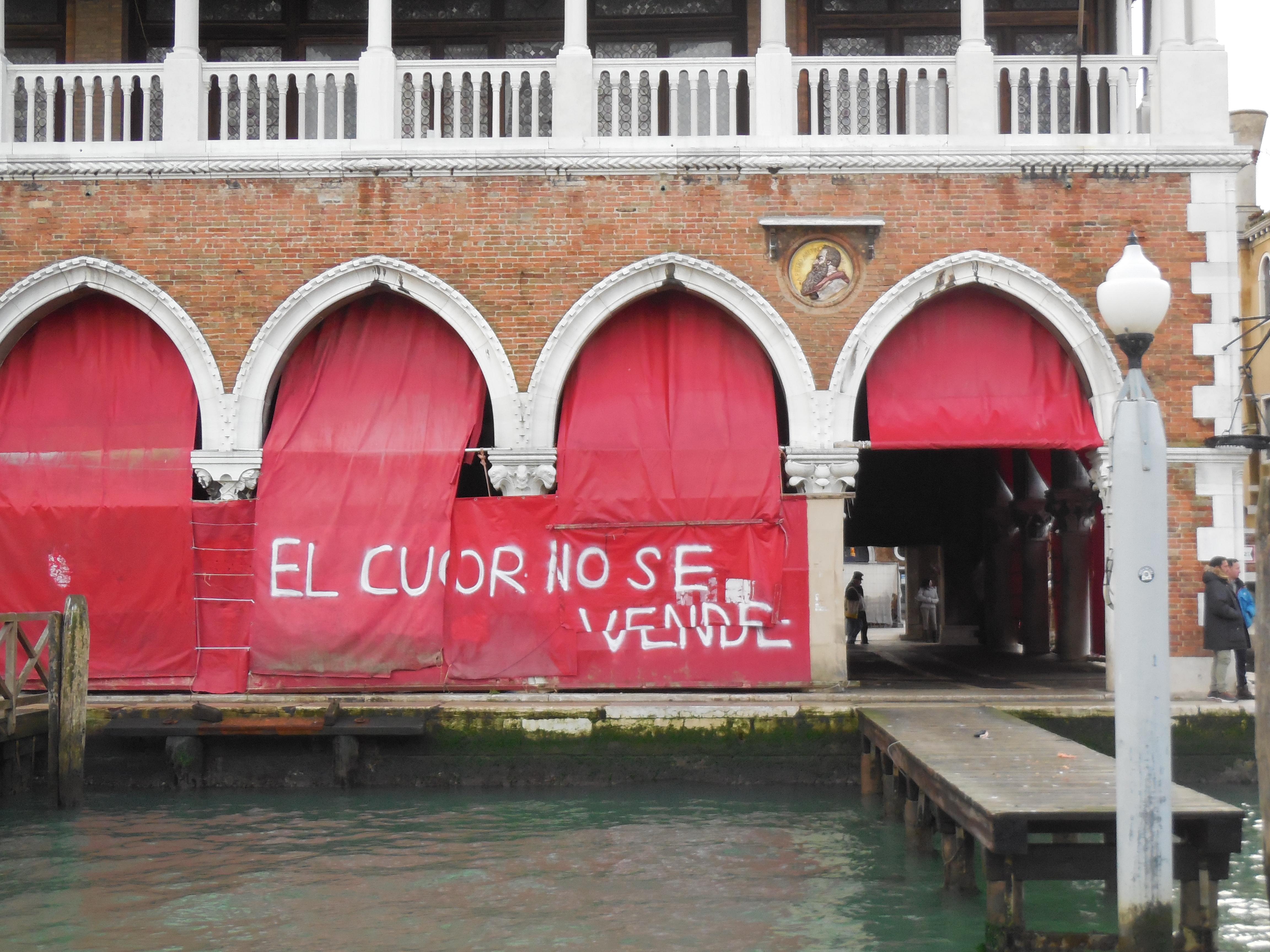 Scritte sui Muri Veneziani romanticoni