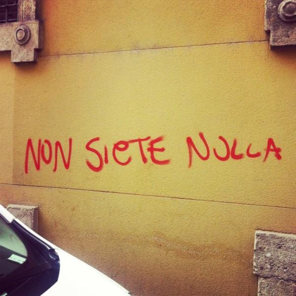 Scritte sui Muri Zero