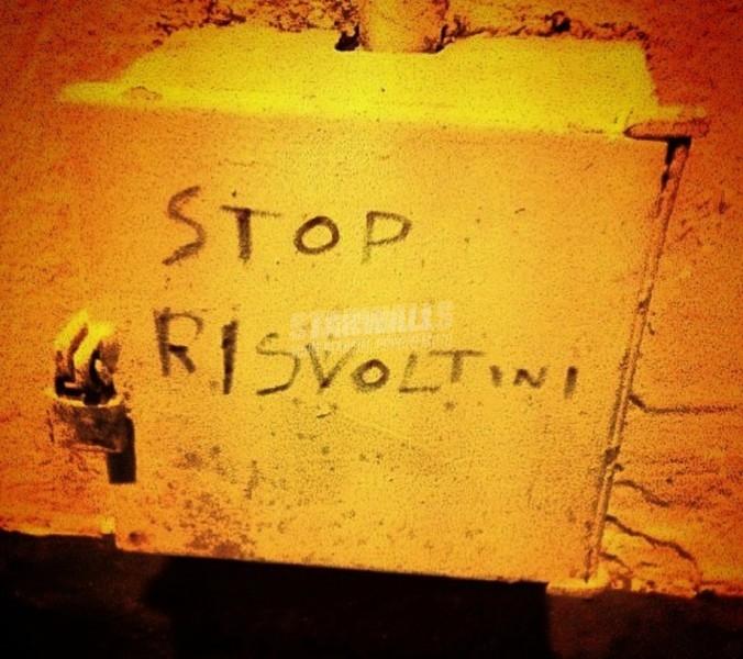 Scritte sui Muri Piaga sociale