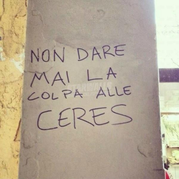 Scritte sui Muri Niente alibi