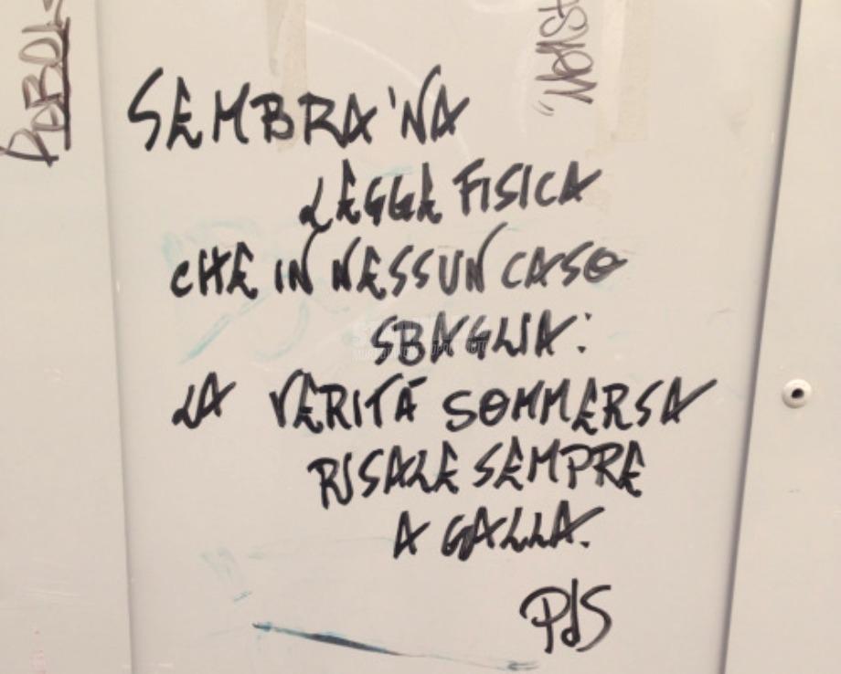 Scritte sui Muri Urban poetry