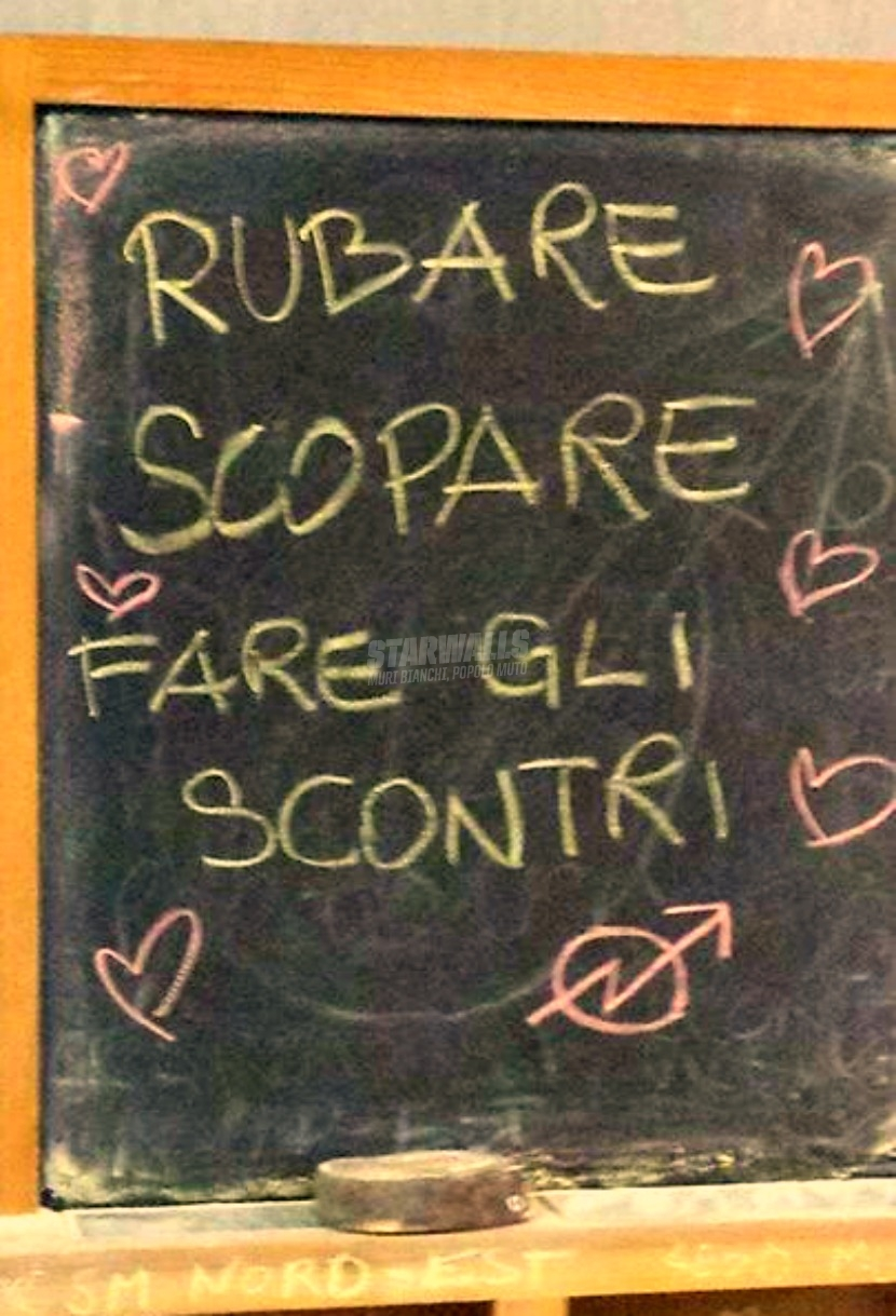 Scritte sui Muri Da Napoli con le idee chiare