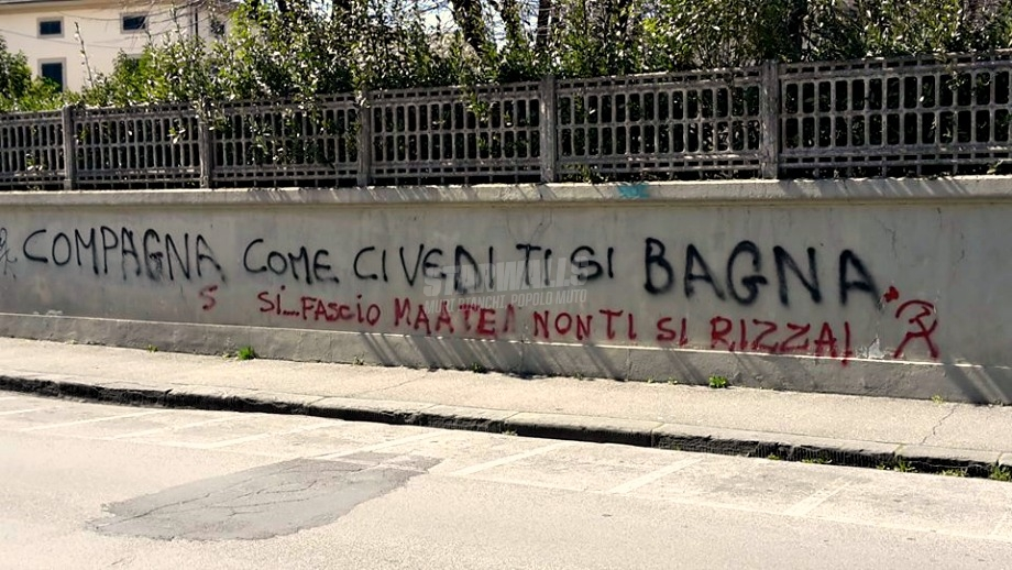 Scritte sui Muri Discussioni post-ideologiche