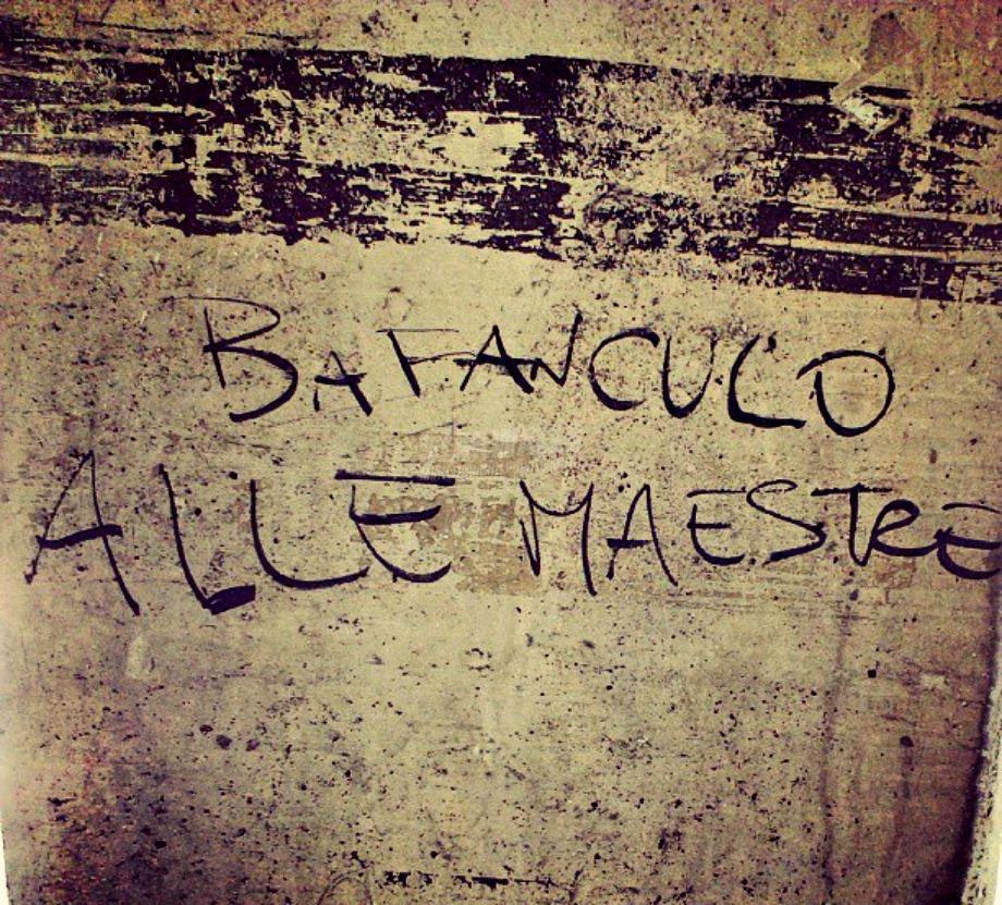 Scritte sui Muri Le prime ribelllioni