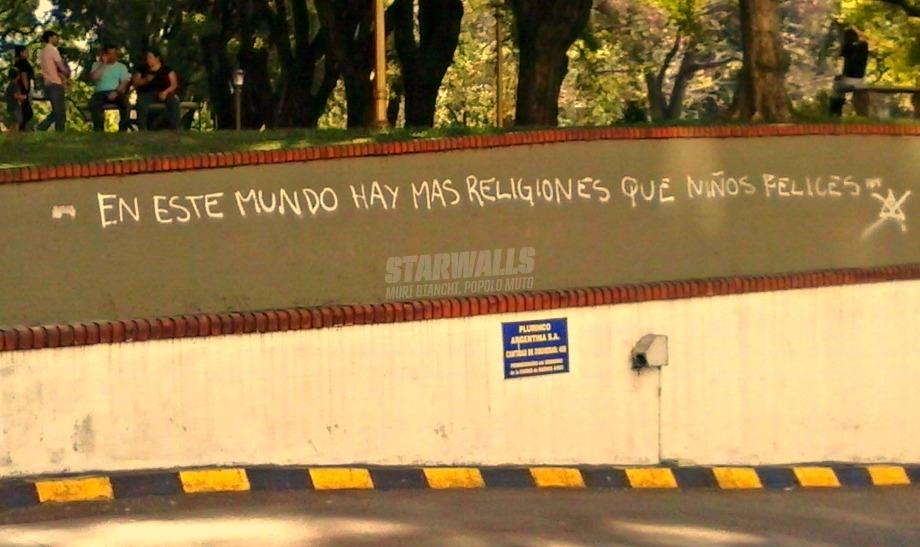 Scritte sui Muri Un mundo estupido