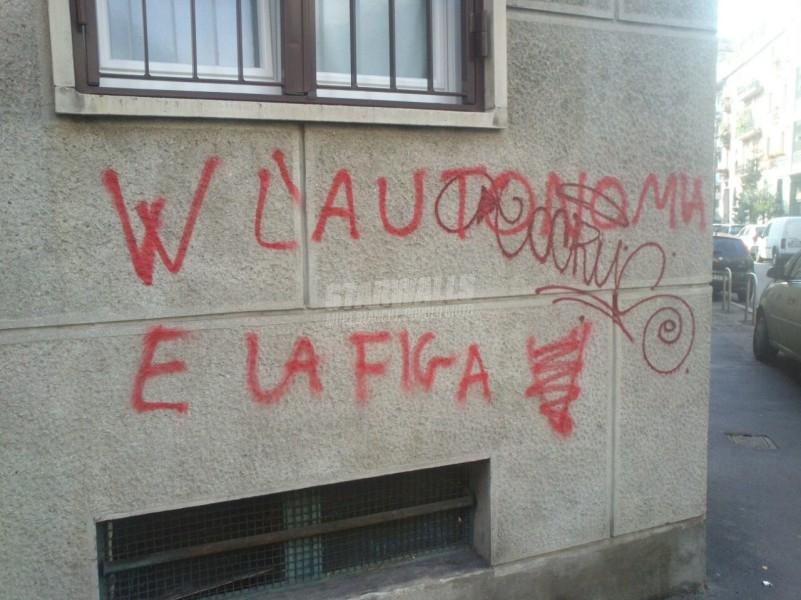 Scritte sui Muri Autonomia e sessualità